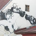 Drachen in Krumau