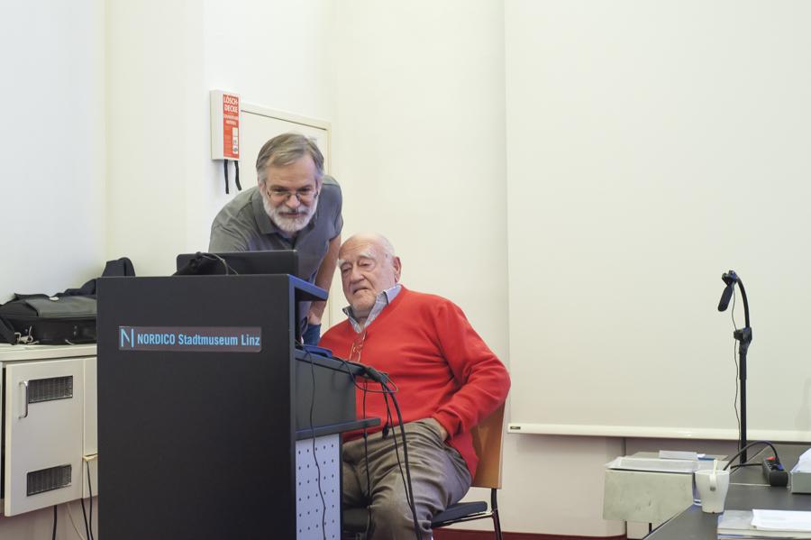 Pressefotografie mit Erich Lessing